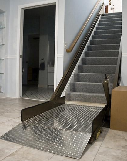 butler inclined platform wheelchair lift